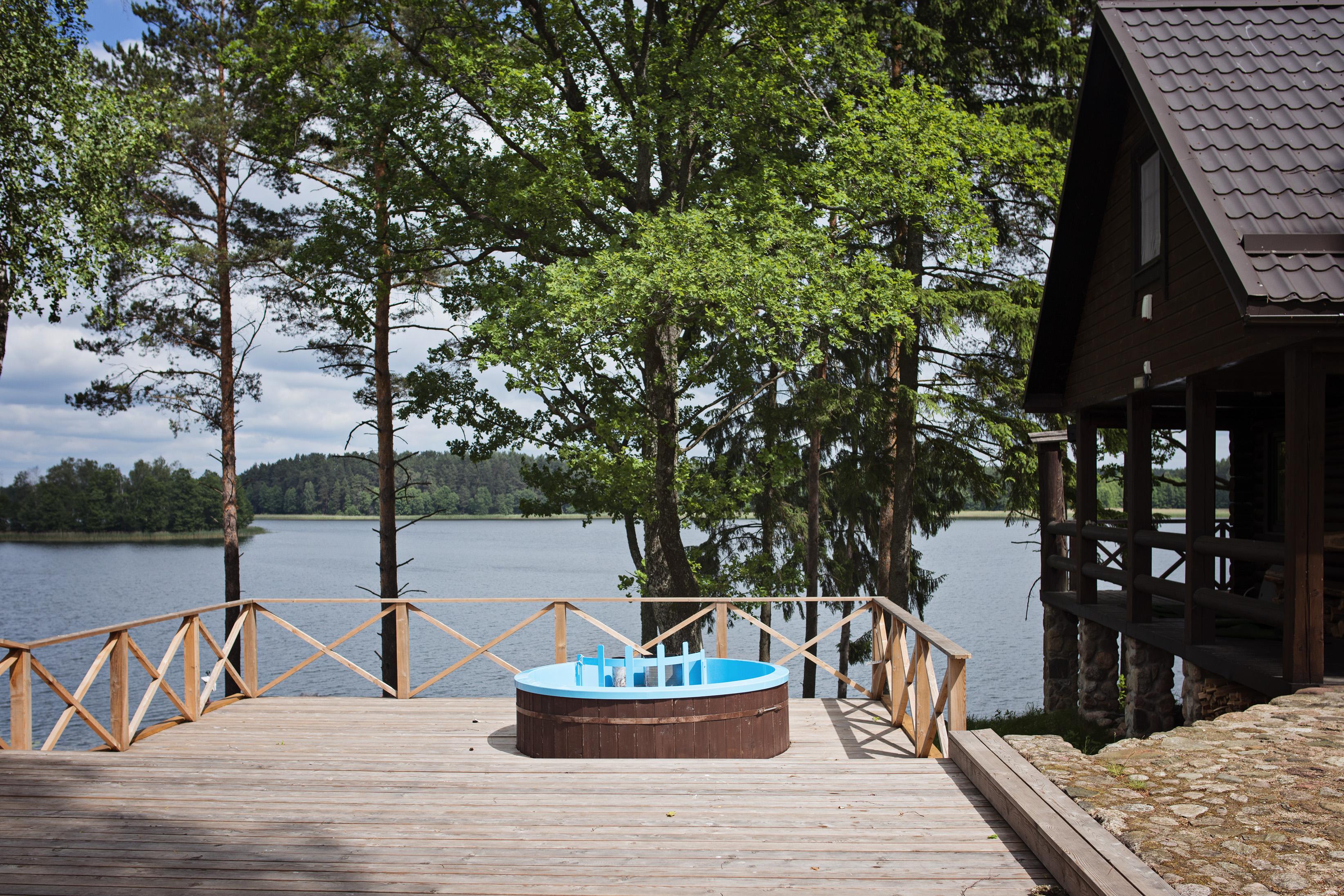 Kubilo nuoma prie ezero